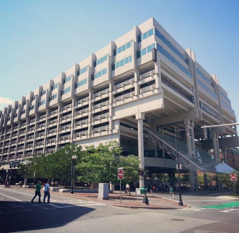 Government Center Garage Boston Massachusetts Samuel Glaser